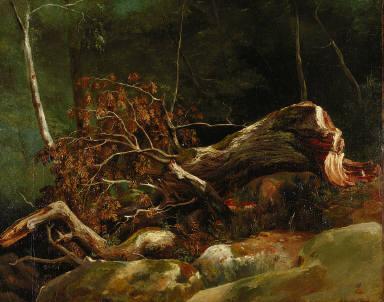 The Fallen Branch, Fountainbleau