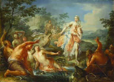 Latona Turning the Lycian Peasants into Frogs