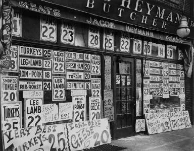 Jacob Heymann Butcher Shop, 345 Sixth Avenue, Manhattan