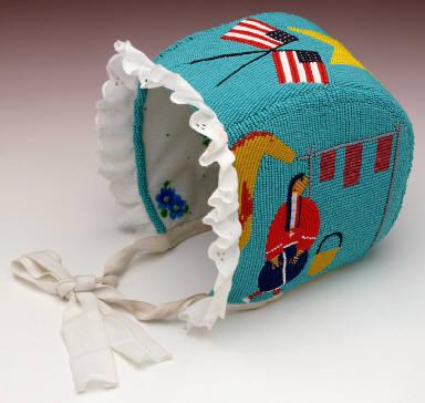 Pictographic Baby Bonnet