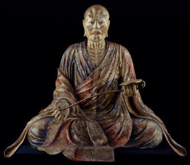 Portrait Sculpture of Priest Gyoki