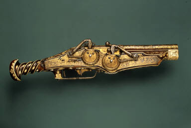 Double-Barreled Wheellock Pistol of Emperor Charles V