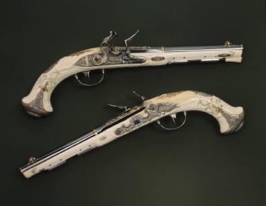 Pair of Flintlock Pistols of Empress Catherine the Great