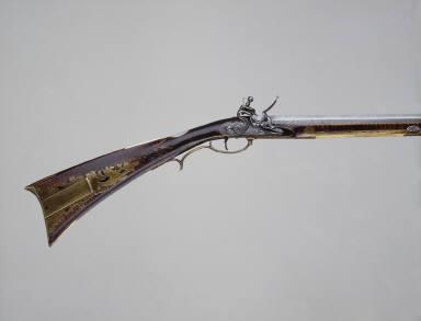 "Pennsylvania ""Kentucky"" Flintlock Rifle"