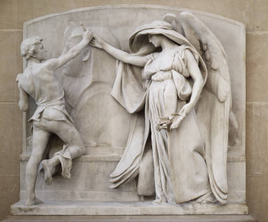 The Angel of Death and the Sculptor from the Milmore Memorial