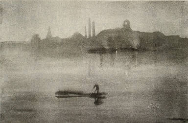 Nocturne: The Thames at Battersea