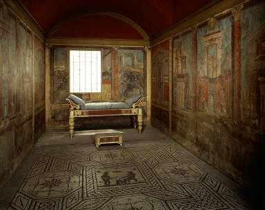 Cubiculum (bedroom) from the Villa of P. Fannius Synistor