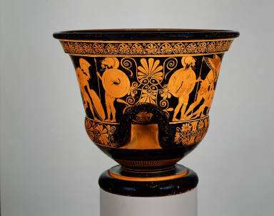 Calyx-krater (bowl for mixing wine and water)