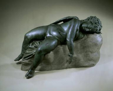 Statue of Eros sleeping