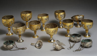 Chalice (one of a group of fifteen objects)