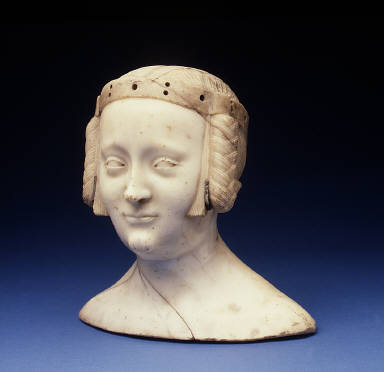 Bust of Marie de France (1327-41), Daughter of Charles IV of France