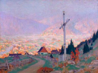 The Wayside Cross, Autumn