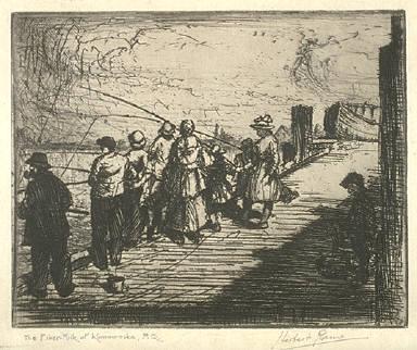 The Fisher Folk at Kamouraska, Quebec