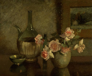 Study in Rose and Green