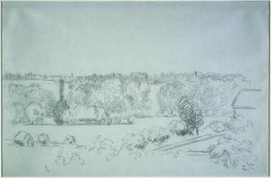 Landscape near Éragny