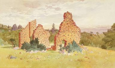 Ruins of Chateau Bigot