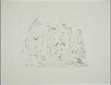 The Small Bathers (The Bath)