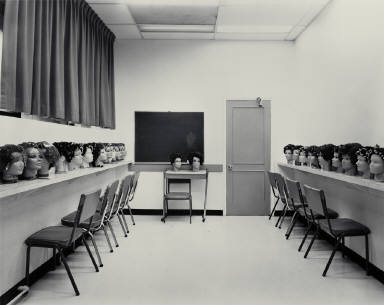 Classroom, Marvel Beauty School, Ottawa