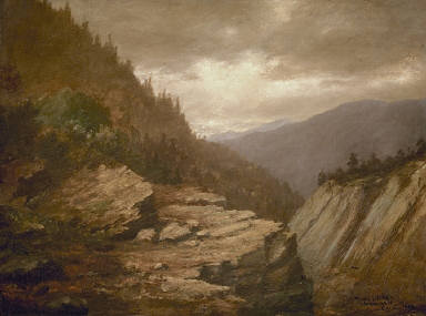 A Scene from the Rockies