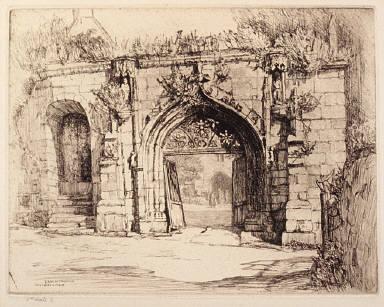 L'arc de triomphe, Saint-Jean-du- Doigt