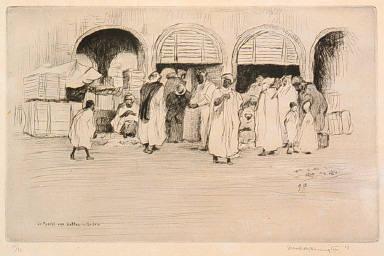 The Date Market in Biskra