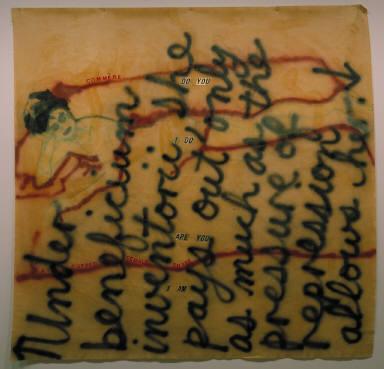 Untitled (Quoting E. Bagnold, S. Schwartz-Bart, J. Posner, L. Irigaray)