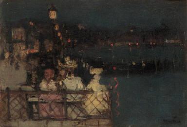"Study for ""Venice Festival"""