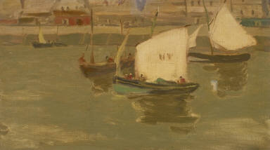 Fishing Boats, Cancale