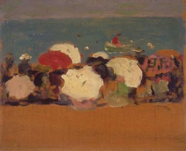 Beach and Parasols