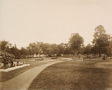 View on Majors Hill Park
