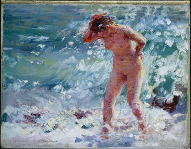 Bathing Woman, Capri