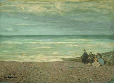 Dieppe, The Beach, Grey Effect