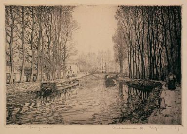 Canal du Loing, Moret
