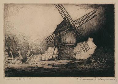 Old Windmill, Saint-Briac