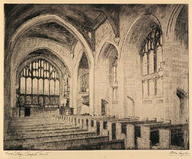 Knox College Chapel, Toronto