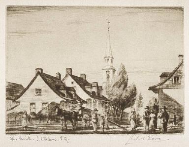 Sainte-Famille, Ile d'Orléans, P.Q.