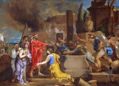 Ulysses Discovering Astyanax Hidden in Hector's Tomb