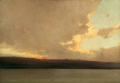 The Evening Cloud of the Northland