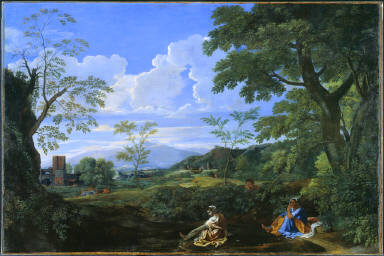 Landscape with a Woman Washing her Feet