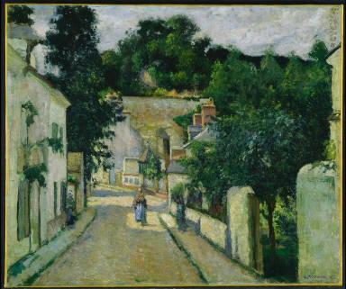 Rue de l'Hermitage, in Pontoise