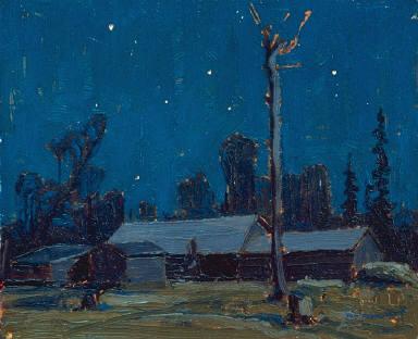 Lumber Camp, Night
