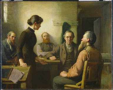 A Meeting of the School Trustees