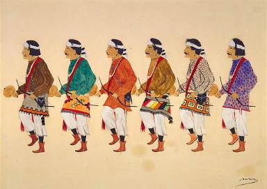 Navajo Yebijhi Dance