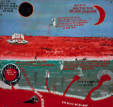 AND THE MOON BECAME AS BLOOD