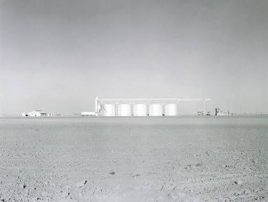 Storage Tanks, Corcoran, California, from the Great Central Valley Project