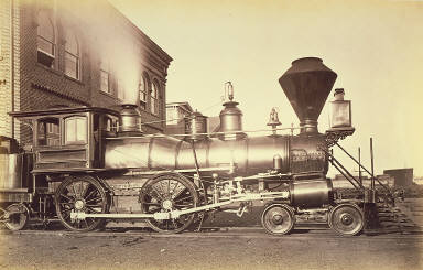 Pennsylvania Railroad Locomotive at Altoona Repair Facility
