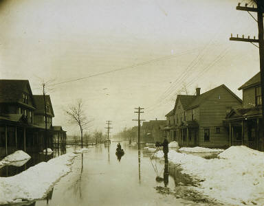 Flood, Herkimer, New York