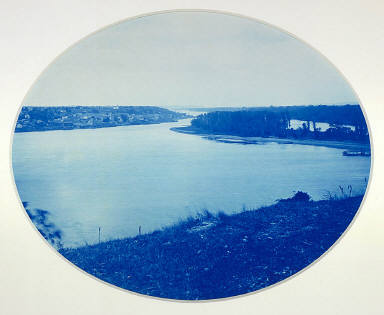 Mouth of the St. Croix River, from the series Upper Mississippi River, Views, Volume I