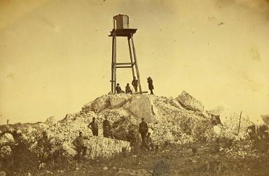 Ruins of the Charleston Lighthouse, Morris Island, South Carolina