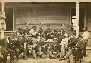 New York 7th Regiment Officers